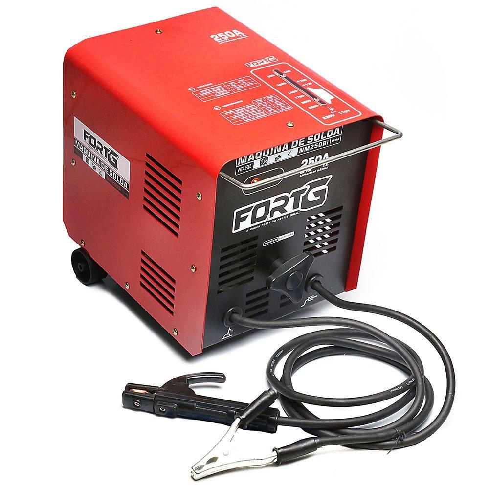 Máquina de Solda Transformadora 250A 110/220V AC NM250Bi - Imagem zoom
