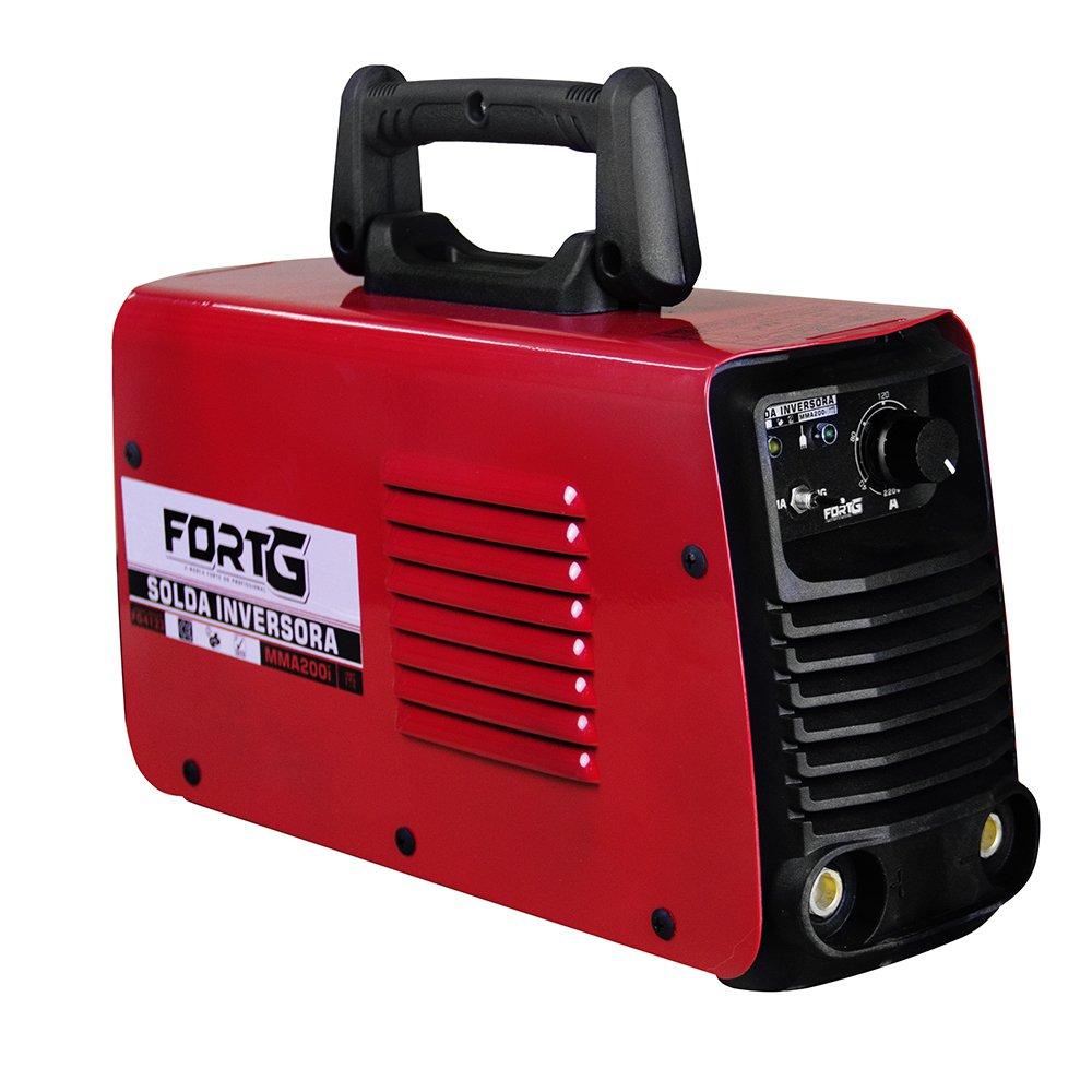Máquina de Solda MMA200i e TIG Lift Inversora Multifuncional DC 110/220V - Imagem zoom