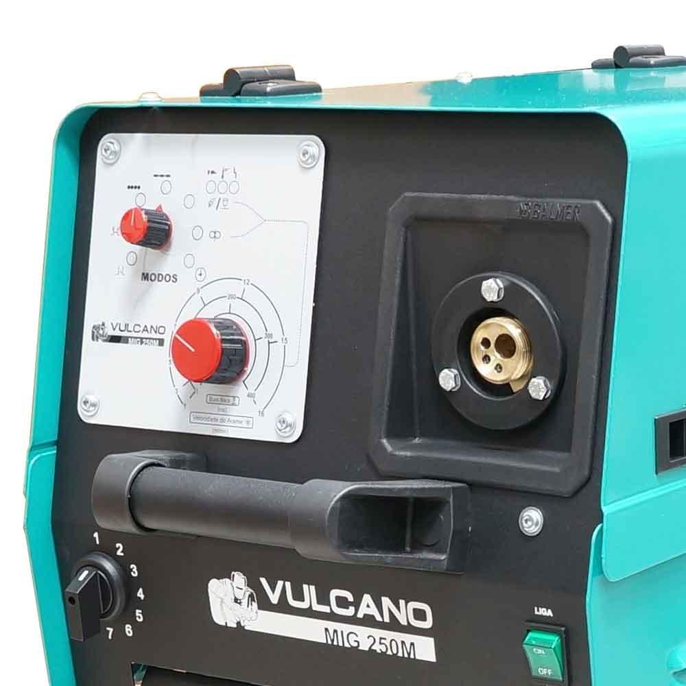 Máquina de Solda MIG/MAG 225A Monofásica  - Vulcano MIG 250 M - Imagem zoom