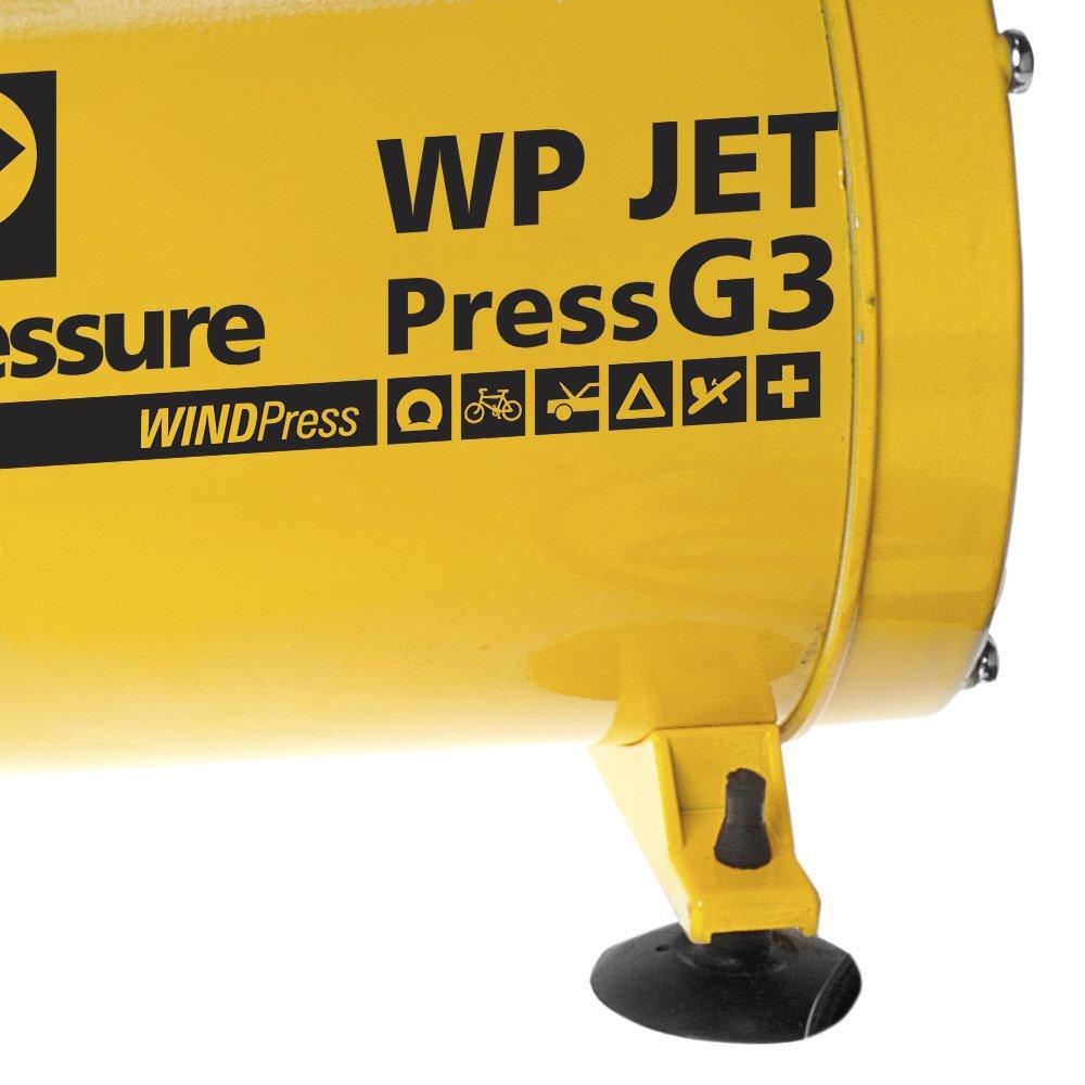 Motocompressor de Ar Direto 1/4HP Bivolt com Kit para Pintura - WP JET G3 - Imagem zoom