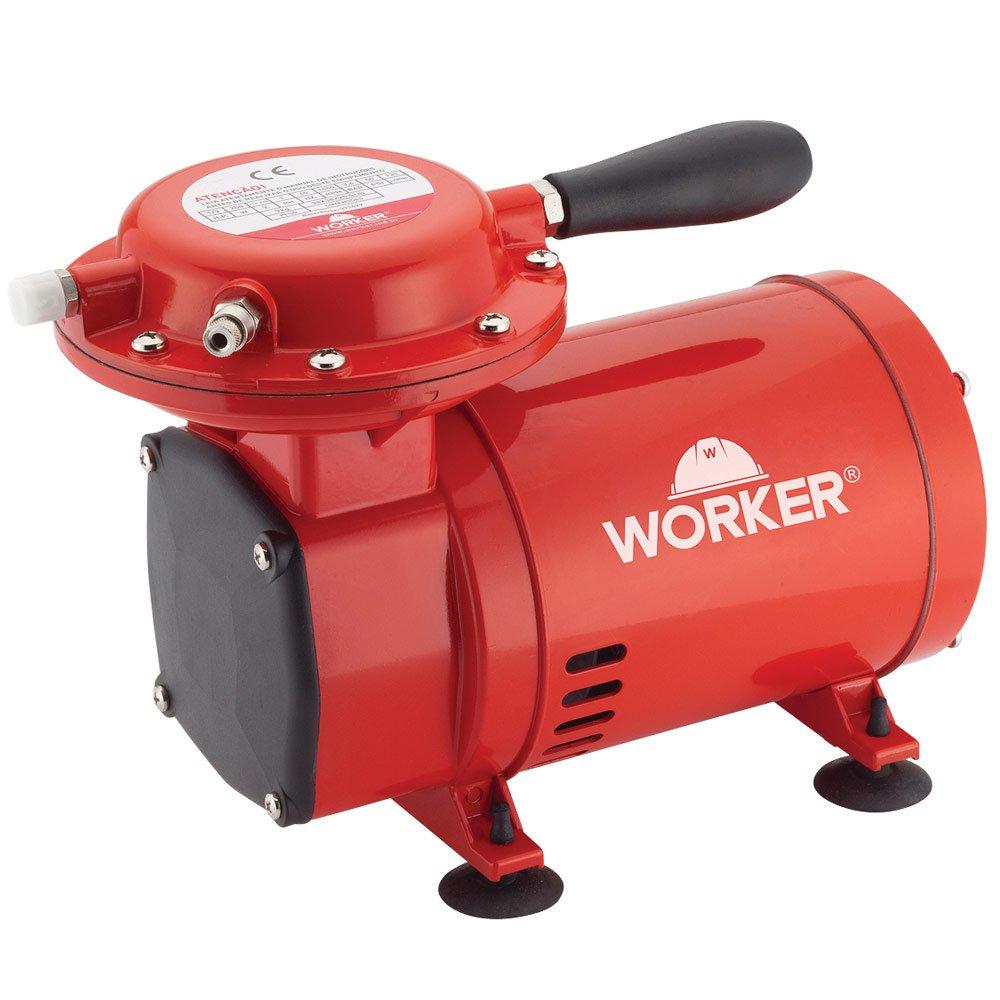 Compressor de Ar Direto 50PSI Bivolt com Kit para Pintura - Imagem zoom