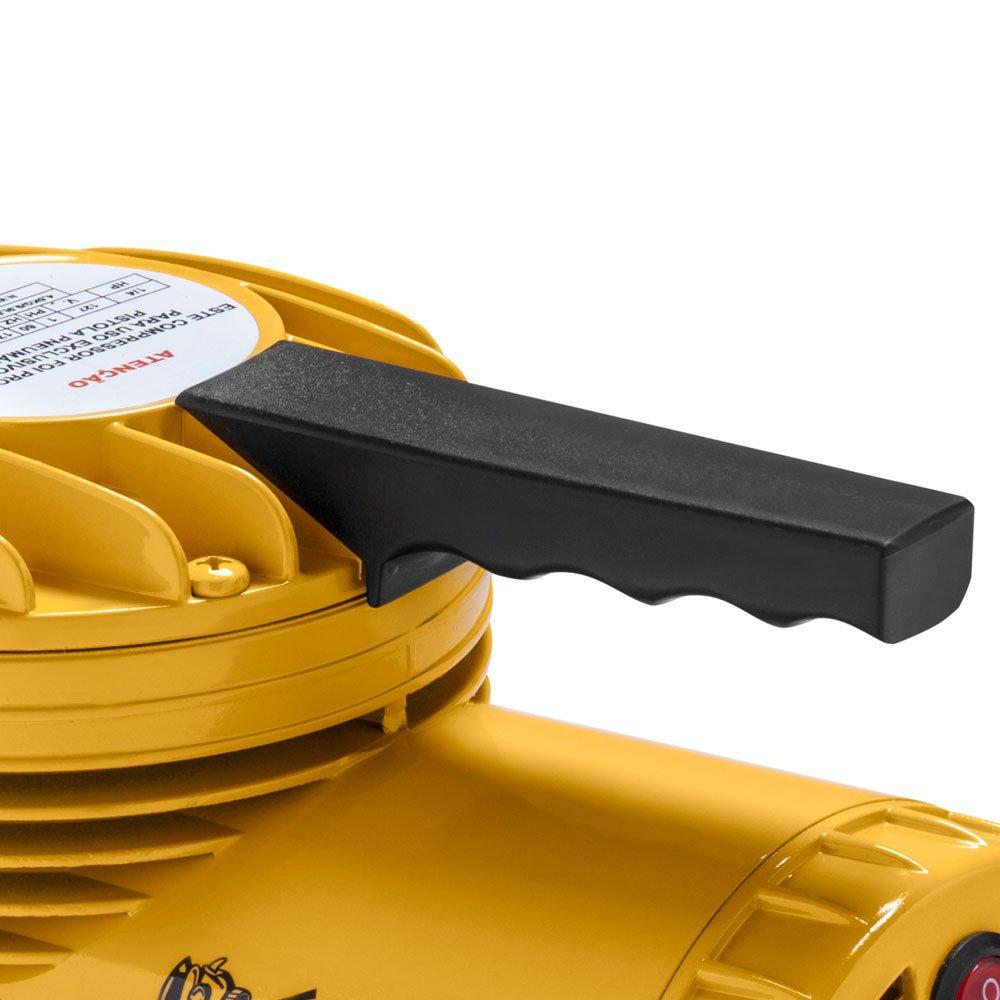 Motocompressor Ar Direto 1/4HP 50PSI  com Kit para Pintura - Imagem zoom