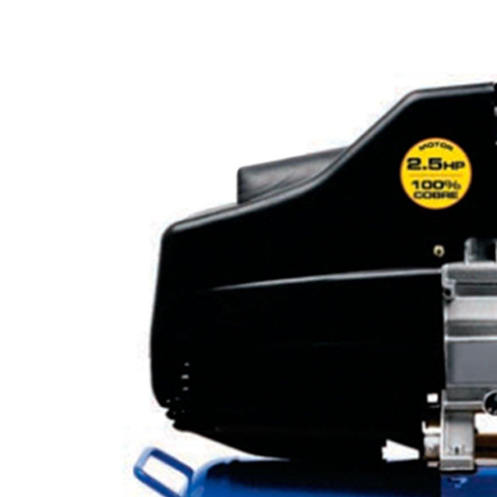 Motocompressor de Ar 8,8 Pés 25 Litros 2,5HP  - Imagem zoom
