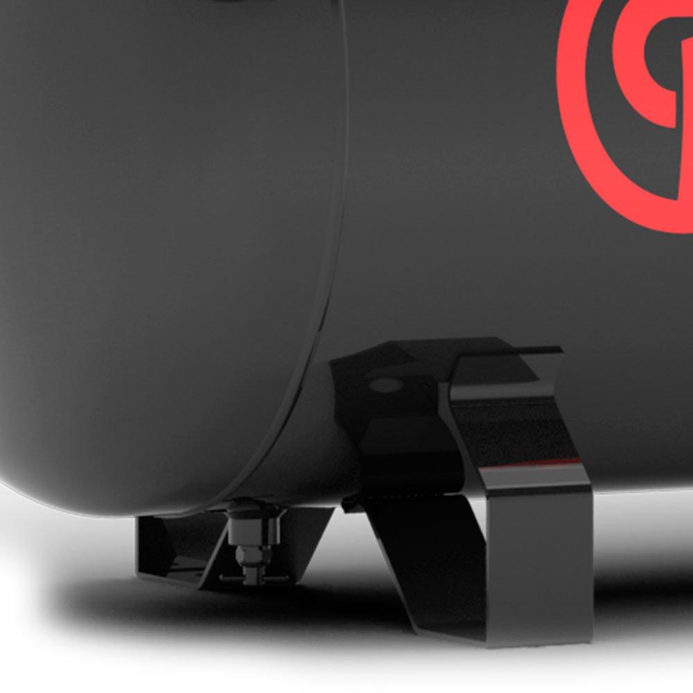 Compressor de Pistão 2HP 10 Pés 100 Litros 110/220V Monofásico - Imagem zoom