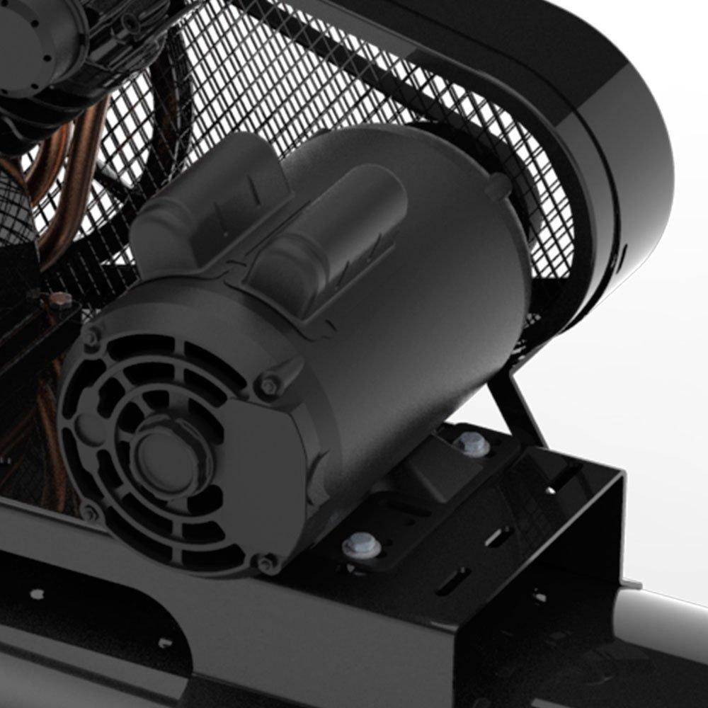 Compressor de Pistão 3HP 15 Pés 175 Litros 110/220V Monofásico - Imagem zoom