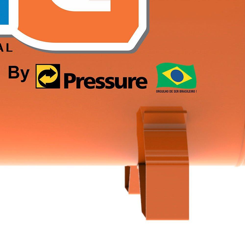 Compressor de Ar Mono 2HP 10 Pés 100 Litros Bivolt - Imagem zoom