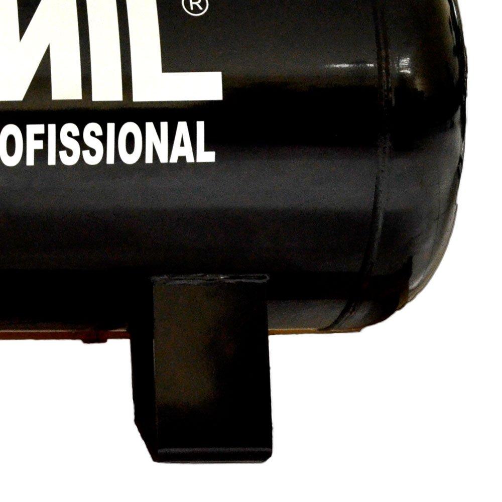 Compressor de Ar Profissional 25 Pés 200L 140Lbs 220/380V Trifásico - Imagem zoom