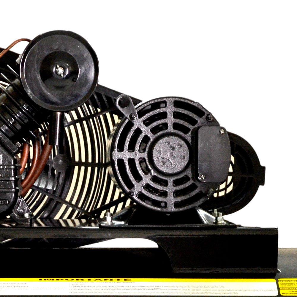 Compressor de Ar Profissional 40 Pés 350L 10HP 220/380V Trifásico - Imagem zoom