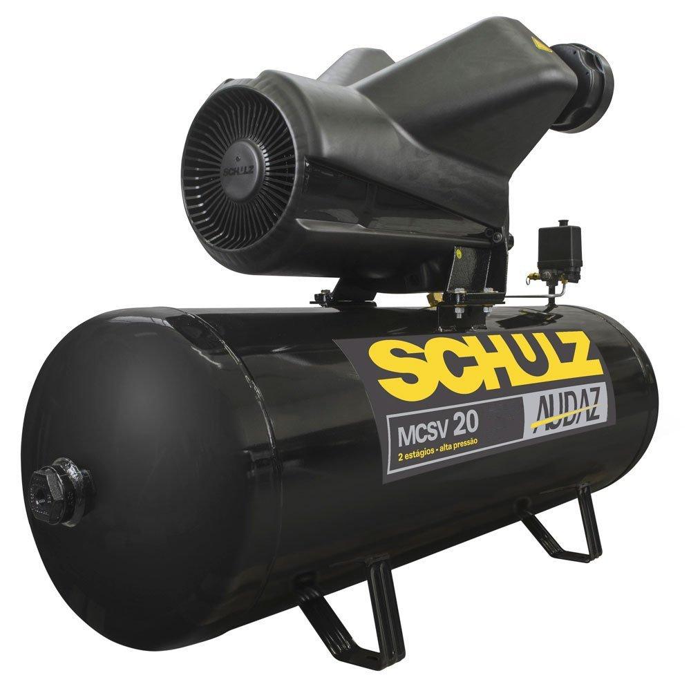 Compressor de Ar Audaz 5HP 20 Pés 200L 175lbf Trifásico 220/380V - Imagem zoom
