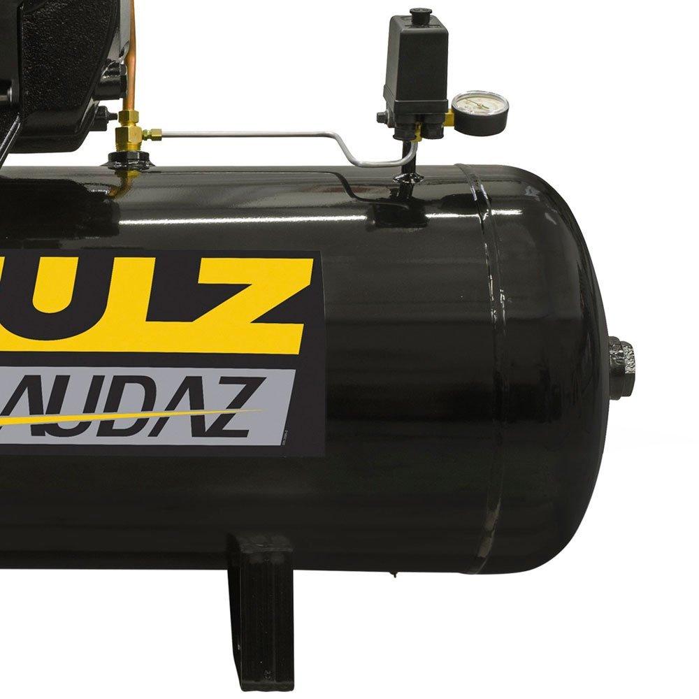 Compressor de Ar Audaz 5HP 20 Pés 200L 175lbf Trifásico 220V - Imagem zoom