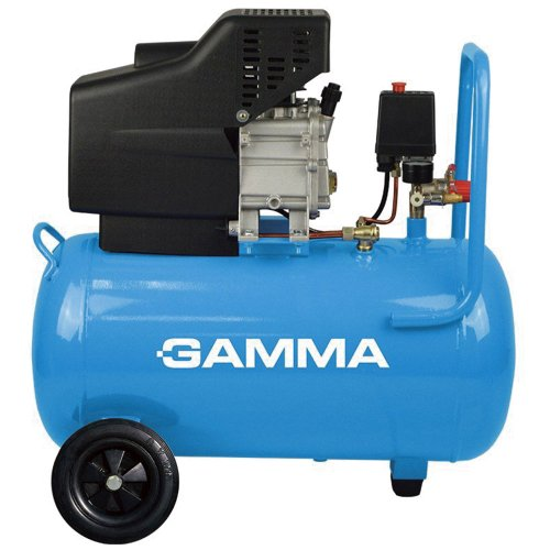 motocompressor de ar 50 com 2 saídas de ar e protetor térmico 2,5hp 50l 110v