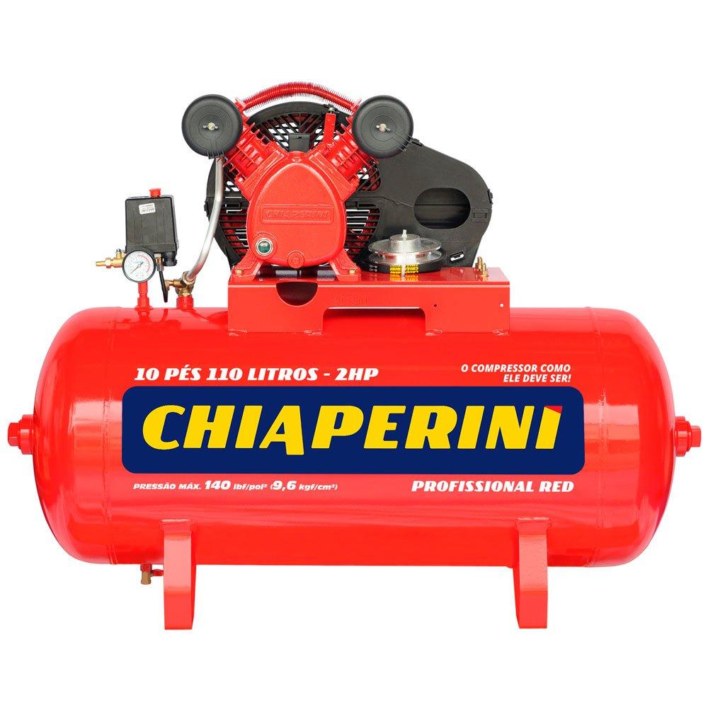 Compressor de Ar Red Média Pressão 10 Pés 110 Litros sem Motor - Imagem zoom