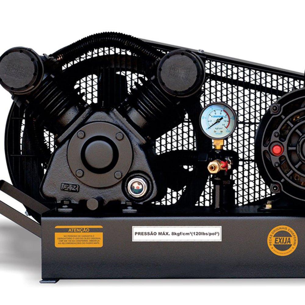 Compressor de Ar Baixa Pressão 10 Pés Sobre Base 120PSI 2HP 110/220V - Imagem zoom