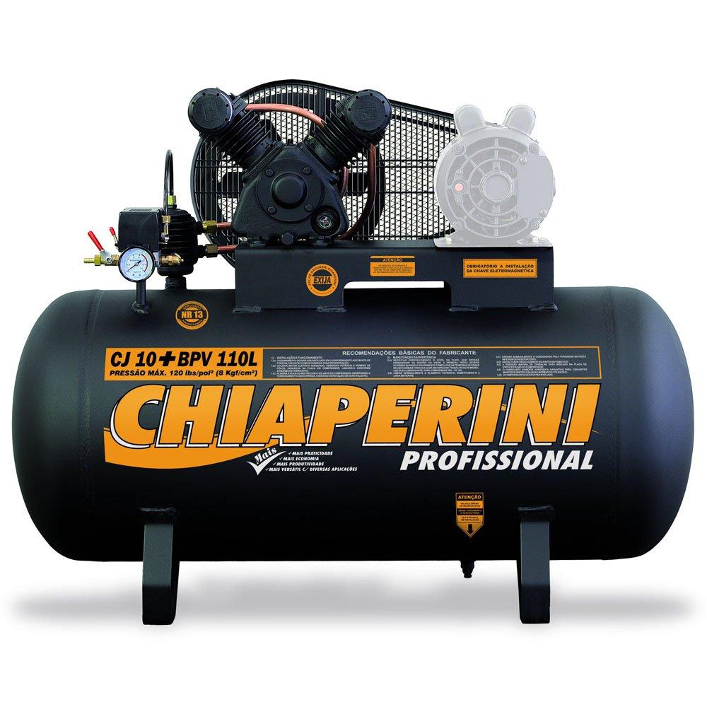 Compressor de Ar Baixa Pressão 10 Pés 110 Litros sem Motor - Imagem zoom