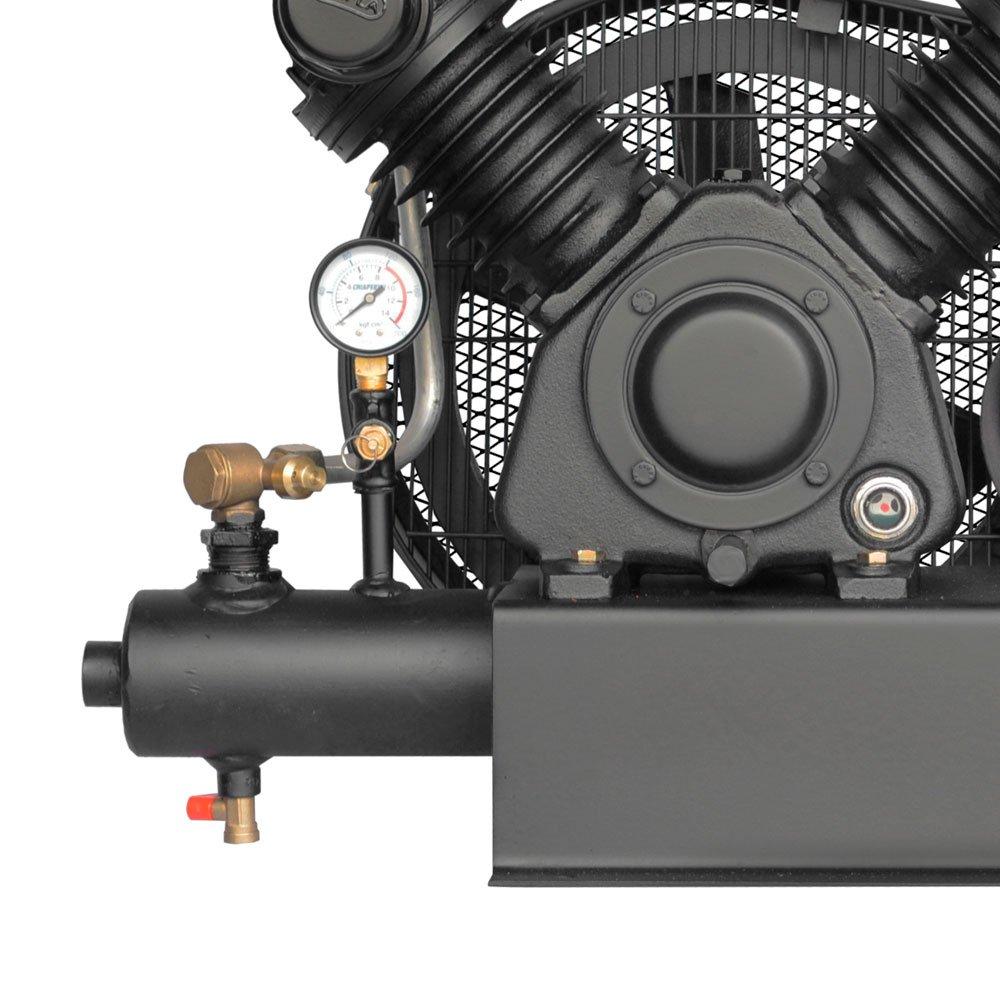 Compressor de Ar Sobre Base 10 Pés sem Motor  - Imagem zoom