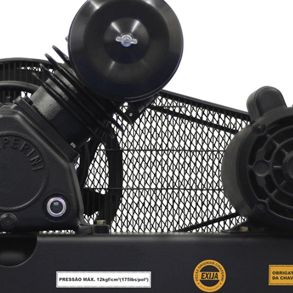 Compressor De Ar Alta Pressão Sobre Base CJ15 + APV 15 Pés 3HP 2P 175PSI 110/220V Mono - Imagem zoom