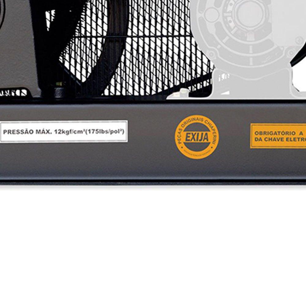 Compressor de Ar Alta Pressão Sobre Base 20 Pés 175PSI sem Motor - Imagem zoom