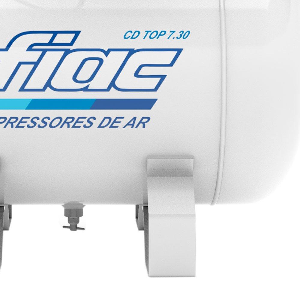 Compressor Odontológico 7,06 Pés 1,5CV 30 Litros Isento de Óleo Bivolt - Imagem zoom