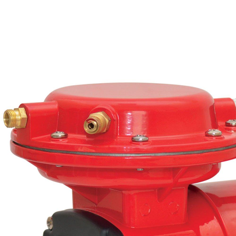 Motocompressor de Ar Direto Red 2,3 Pés 40PSI Mono Bivolt com Pistola e Mangueira - Imagem zoom