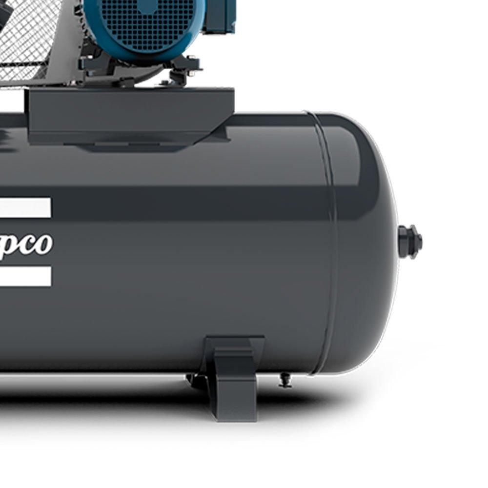 Compressor de Ar Alta Pressão 60 Pés 175 Libras 425L 15HP Trifásico 2P 220/380V - Imagem zoom