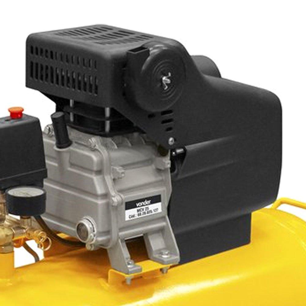 Motocompressor de Ar 6,5 Pés 2 CV 25 Litros  - Imagem zoom
