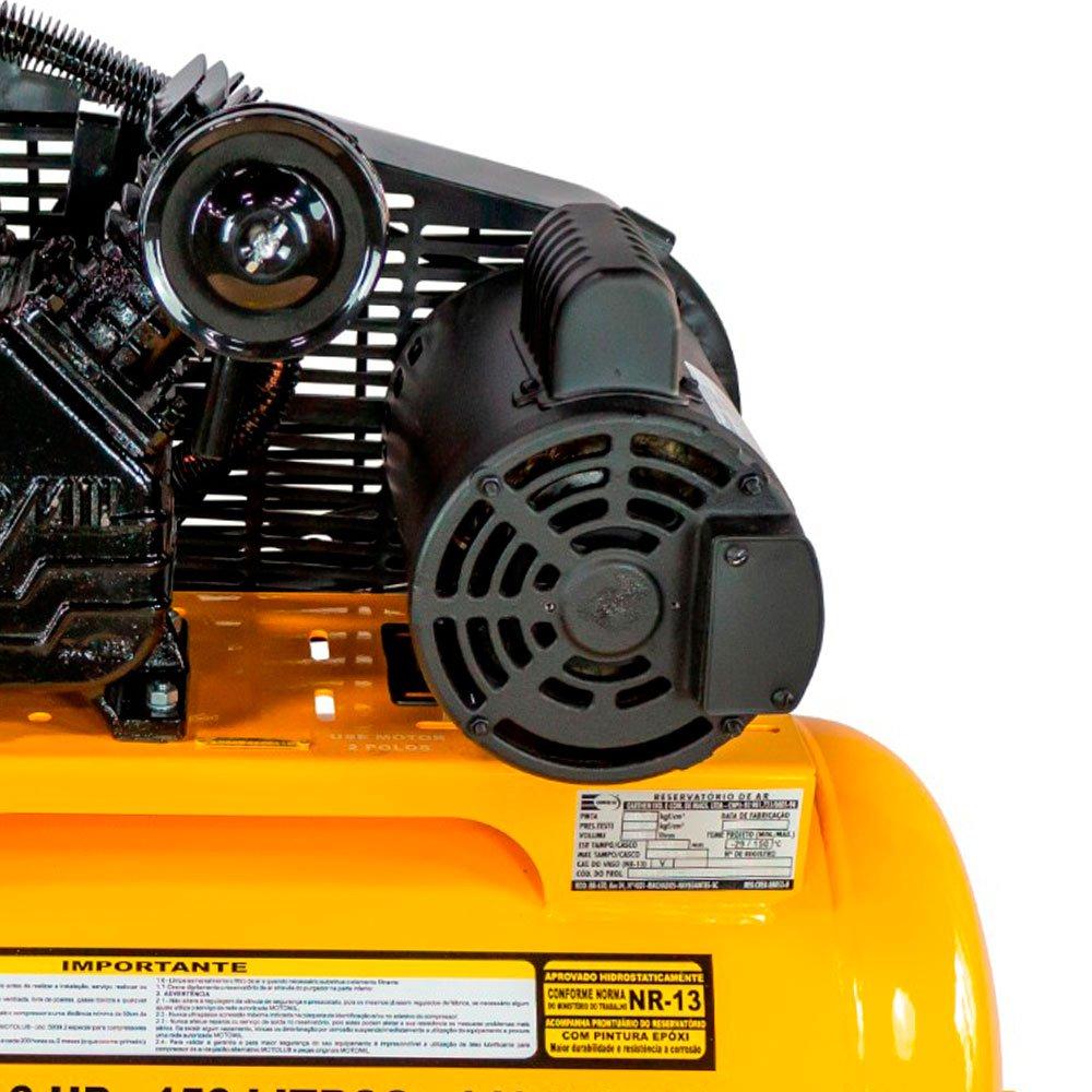 Compressor Air Power 15 Pés 3HP 150 Litros Mono 110/220V - Imagem zoom