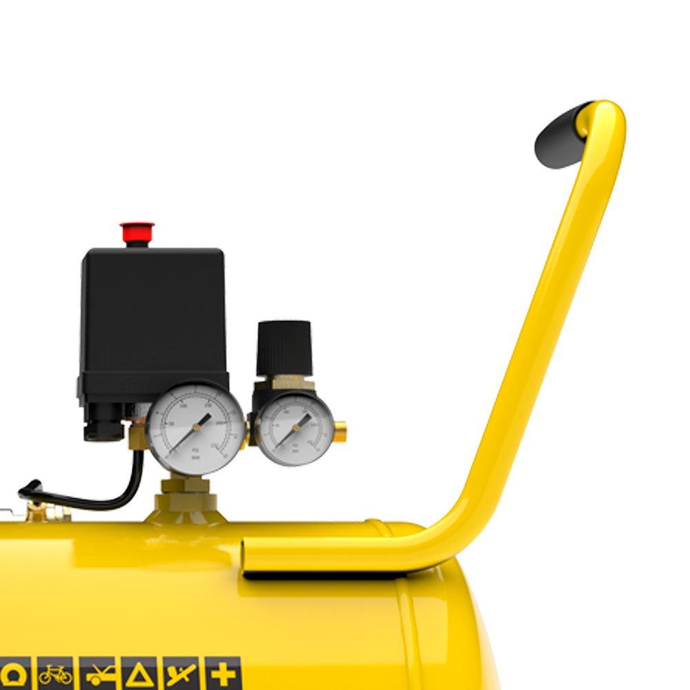 Motocompressor de Ar 8,2 Pés 2HP 50 Litros 116 PSI  - Imagem zoom