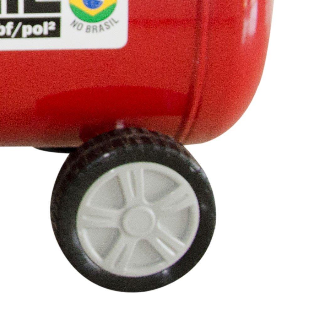 Motocompressor de Ar 8,7 pés³/min 2,0HP 50 Litros 220V - Imagem zoom