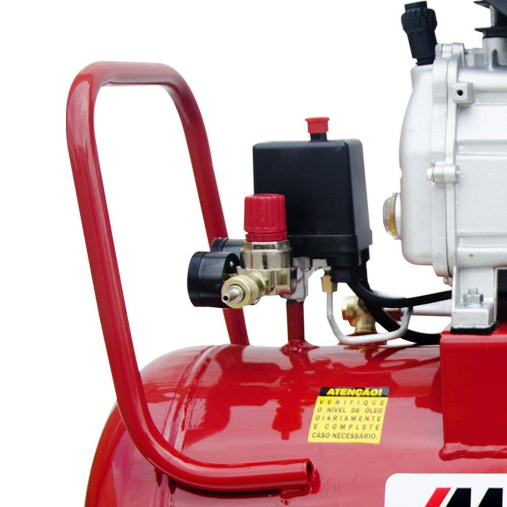 Motocompressor de Ar 8,8 Pés3/min 2,5HP 50 Litros 110/220V - Imagem zoom