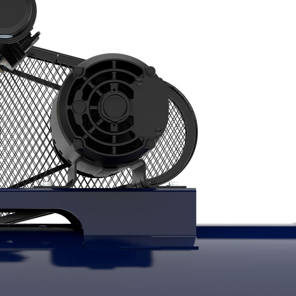 Compressor de Ar 15 Pés 140 PSI 175 Litros Monofásico 110/220V - Imagem zoom