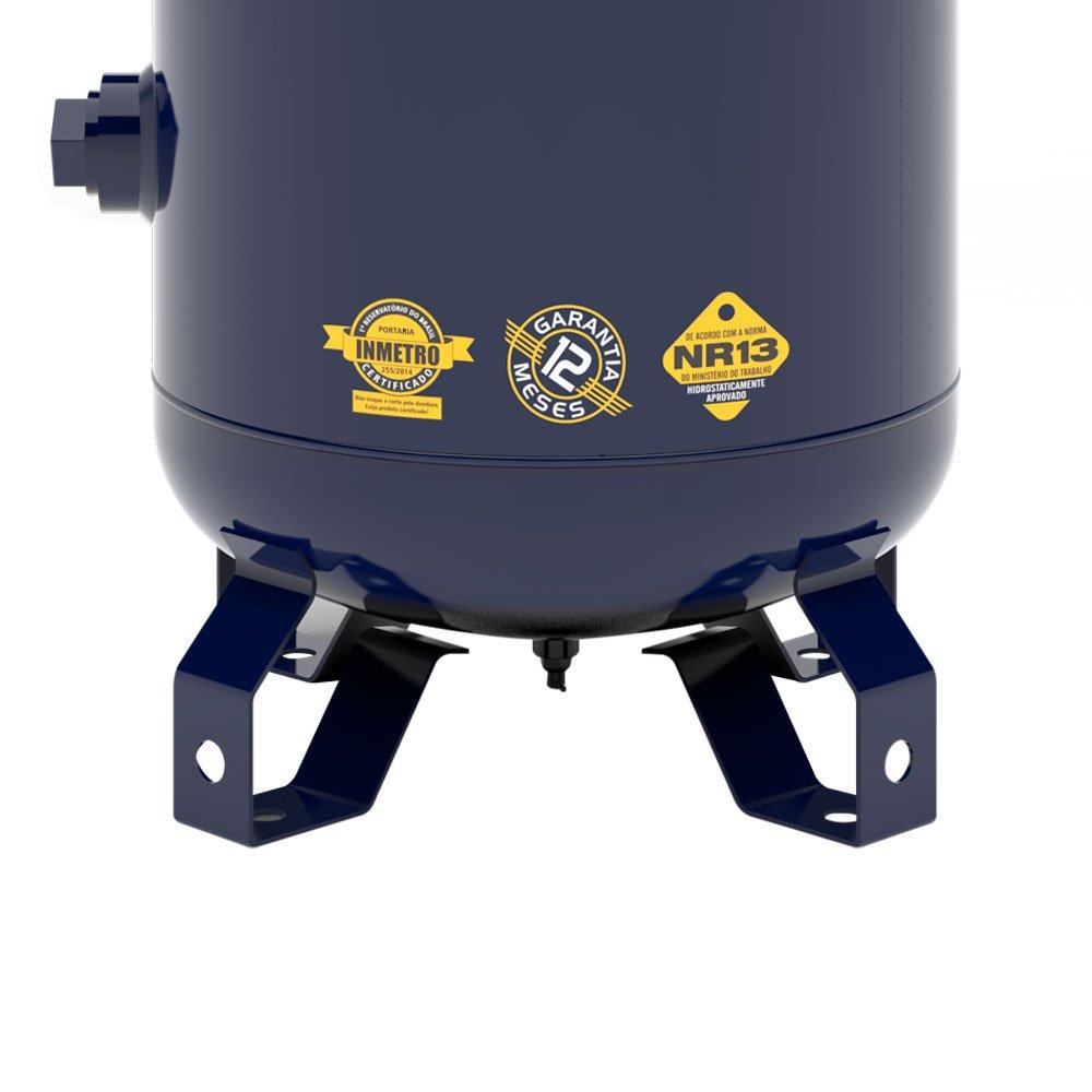 Compressor de Ar Vertical Notus 100L 2HP 110/220V Monofásico - Imagem zoom