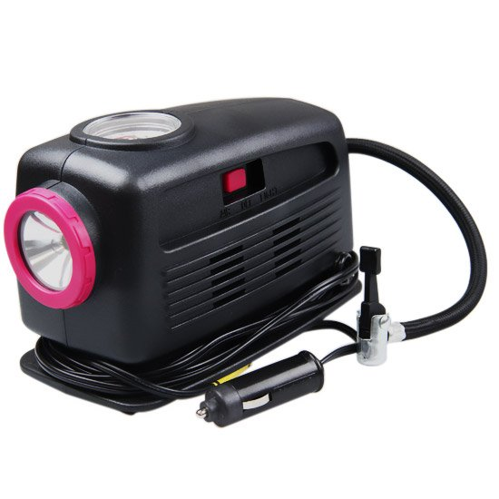 Motocompressor com Lanterna 12 V - Imagem zoom