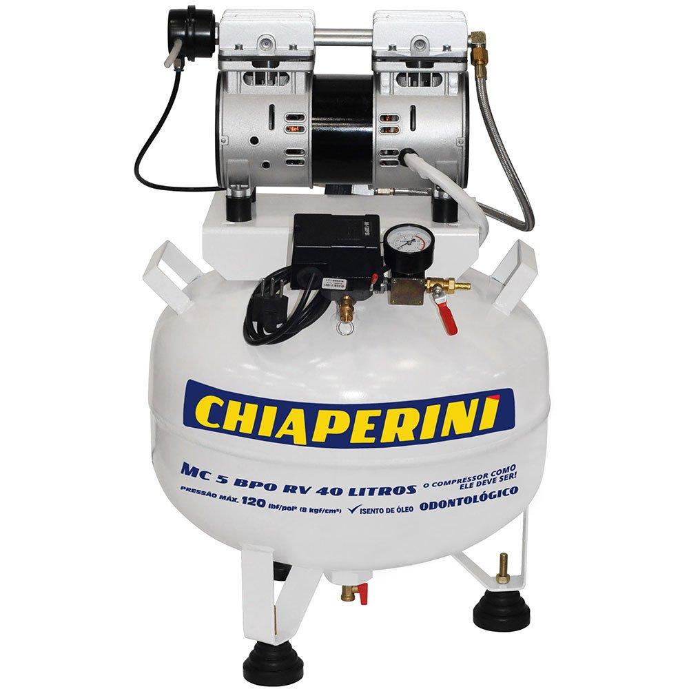 Motocompressor BPO 5 pcm 40 litros Isento de Óleo  - Imagem zoom