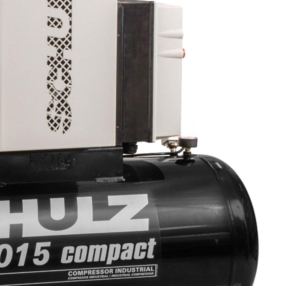 Compressor de Parafuso SRP 3015 Compact 15HP 7,5 Bar 59 Pcm 183L 380V - Imagem zoom