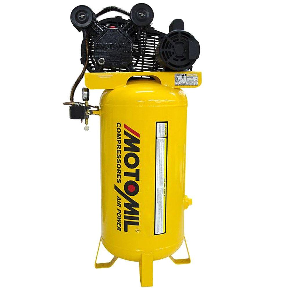 Compressor de Ar Vertical Mono CMV 10PL/100VE 9 Pés 2HP 110/220V - Imagem zoom