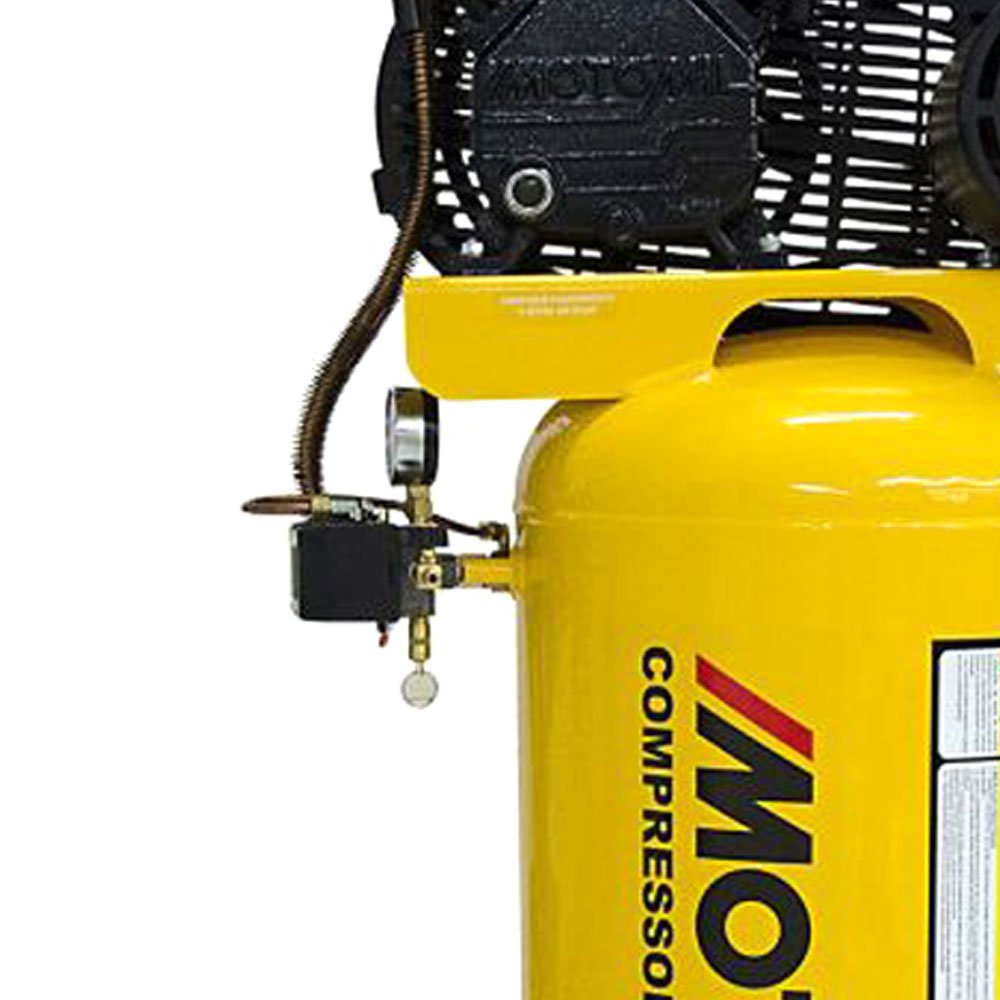 Compressor de Ar Vertical Trifásico CMV 10PL/100VE 9 Pés 2HP 220/380V - Imagem zoom