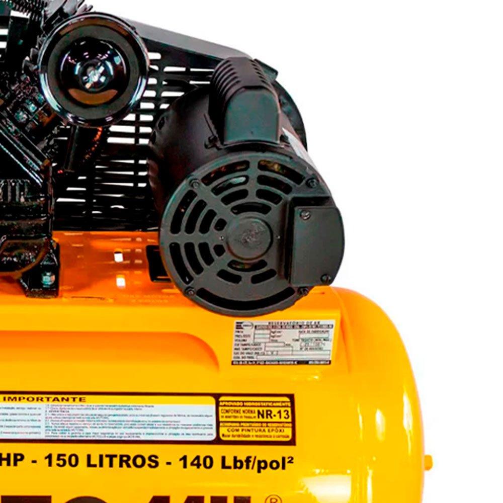 Kit Compressor Air Power MOTOMIL-CMV-15PL/150 15 Pés + 2 Óleos Lubrificantes SCHULZ-0100011-0 1 L - Imagem zoom