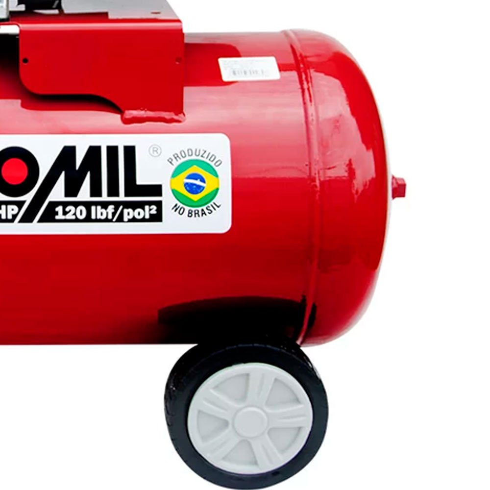 Kit Motocompressor de Ar MOTOMIL-37812.7 8,8 Pés + Óleo Lubrificante SCHULZ-0100011-0 1 L - Imagem zoom