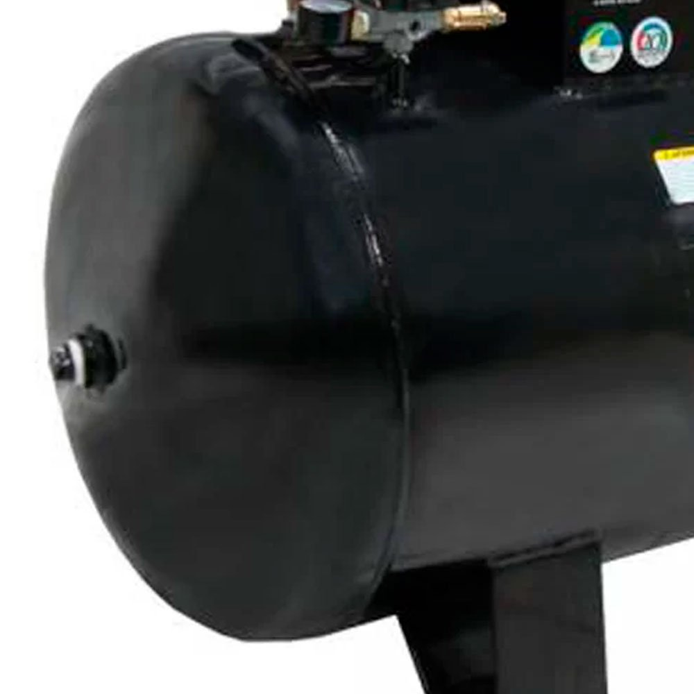 Kit Compressor 20 pés 200 Litros Trifásico 220/380V MOTOMIL CMAV 20/200 + 2 Óleos Lubrificante 1 Litro  - Imagem zoom