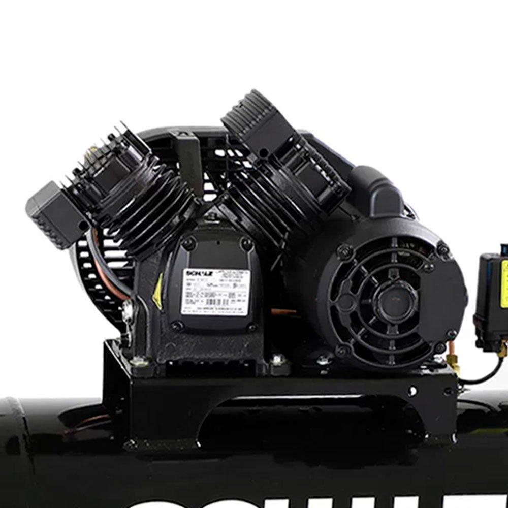 Kit Compressor SCHULZ-CSV10/100 Mono 10 Pés 125 Libras 110V + 2 Óleos Lubrificante 1 Litro  - Imagem zoom