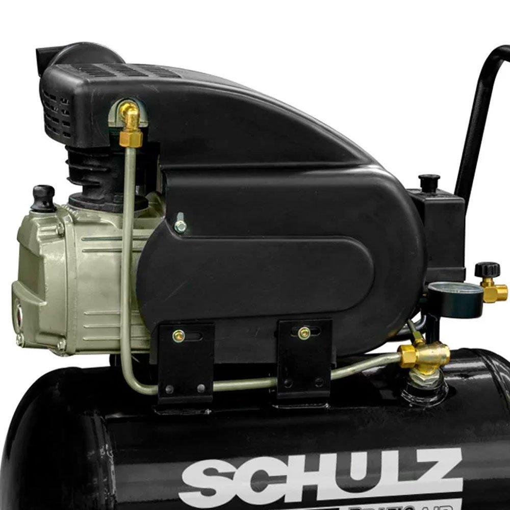 Kit Motocompressor SCHULZ-CSI-8525-AIR 8,5 Pés 25L 110V Monofásico + 2 Óleos Lubrificante 1 Litro  - Imagem zoom