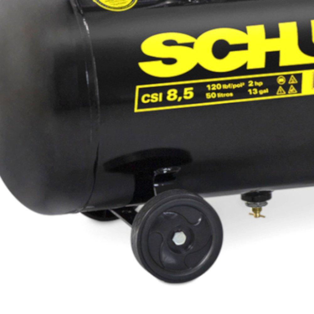 Motocompressor de Ar Pratic Air CSI 8,5 Pés 2HP 50 Litros - Imagem zoom