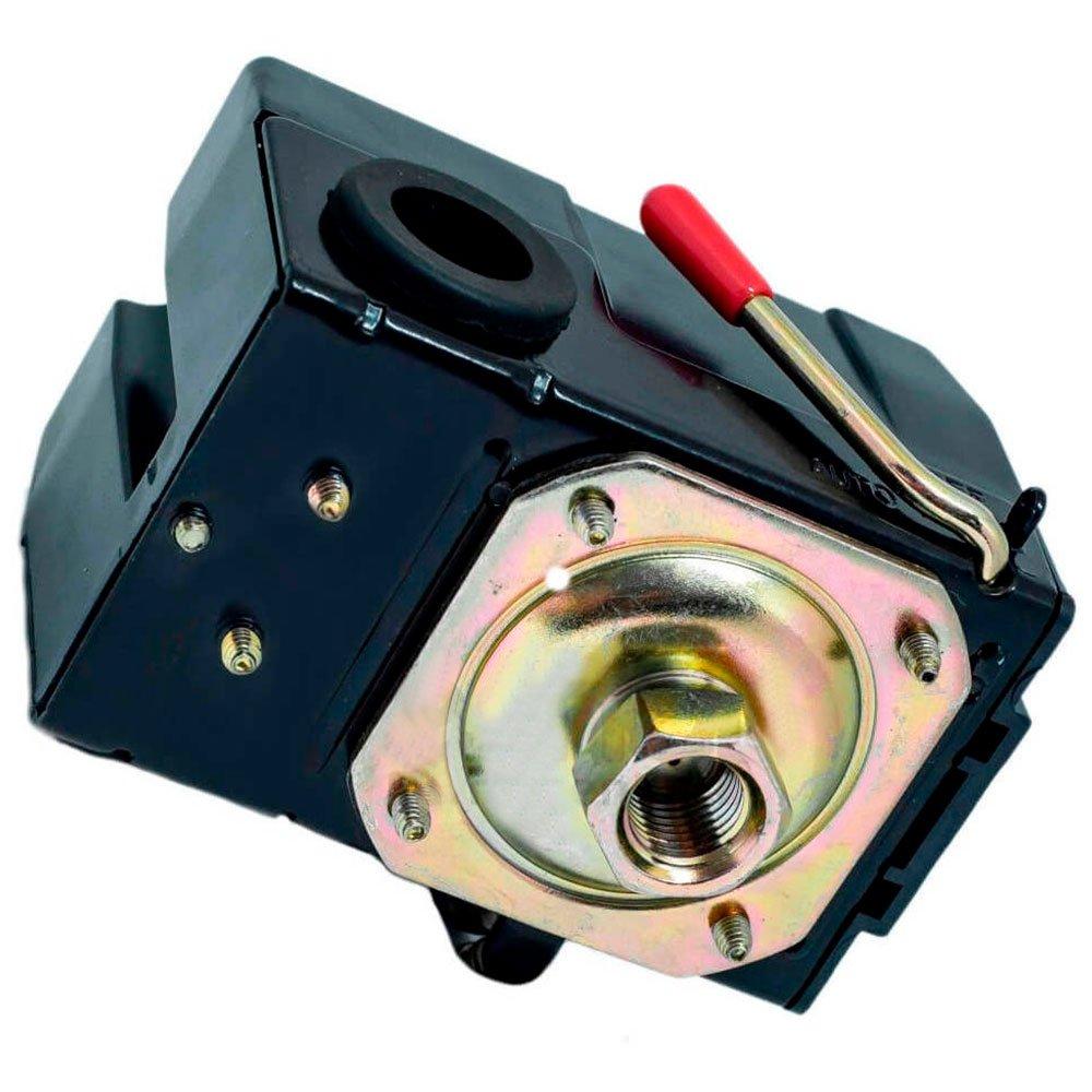 Pressostato para Compressor de Ar 125 à 175 PSI Alta Pressão - Imagem zoom