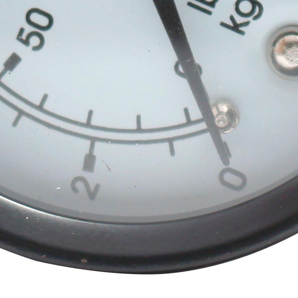 Manômetro Vertical 63mm 200 PSI 1/4 Pol. para Compressor de Pistão  - Imagem zoom