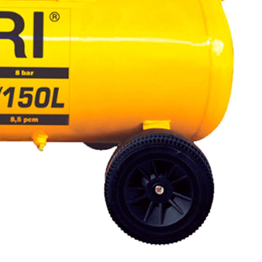 Compressor de Ar Mega Air CFC 15 Pés 150L 3HP  - Imagem zoom