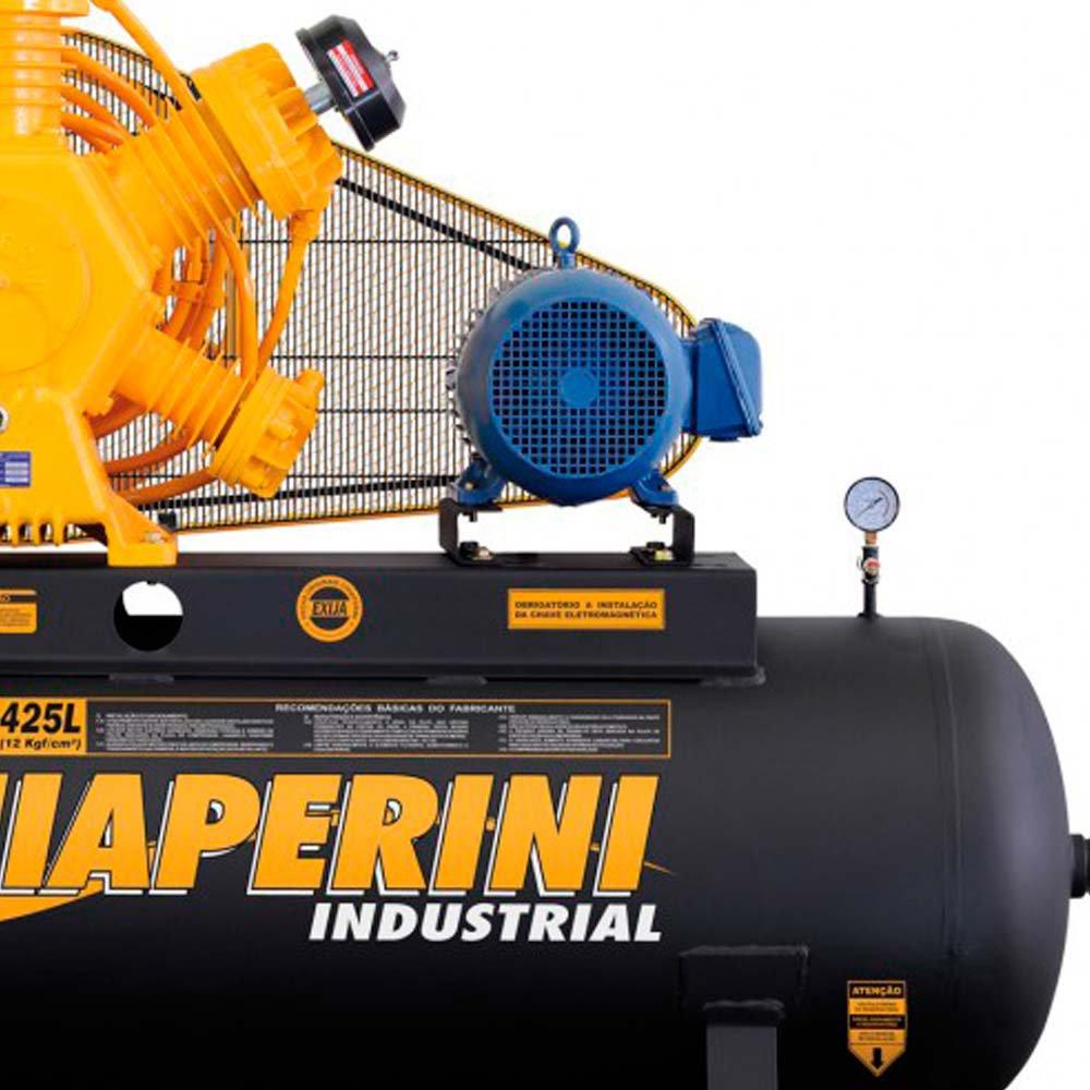 Compressor Industrial 60 Pés 425 Litros 15 HP 220/380 V - Imagem zoom