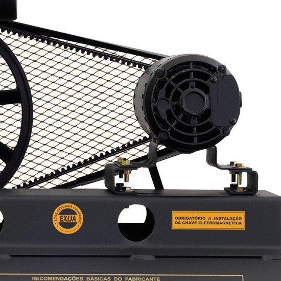 Compressor Profissional Média Pressão (140lbs)20 Pés 200 Litros  - Imagem zoom