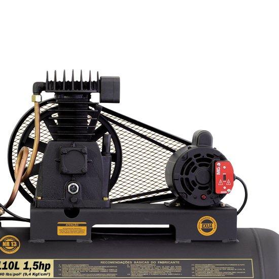 Compressor 140psi 6MPI/110 Litros 1,5 HP 110/220V - Imagem zoom