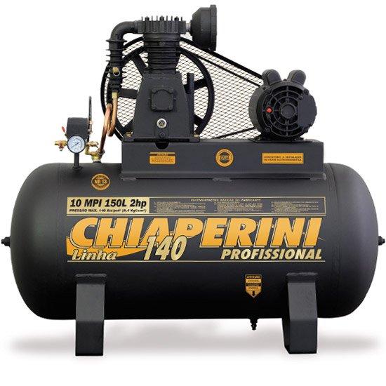 Compressor 140psi 10MPI/150 Litros Monofásico 2 HP - Imagem zoom