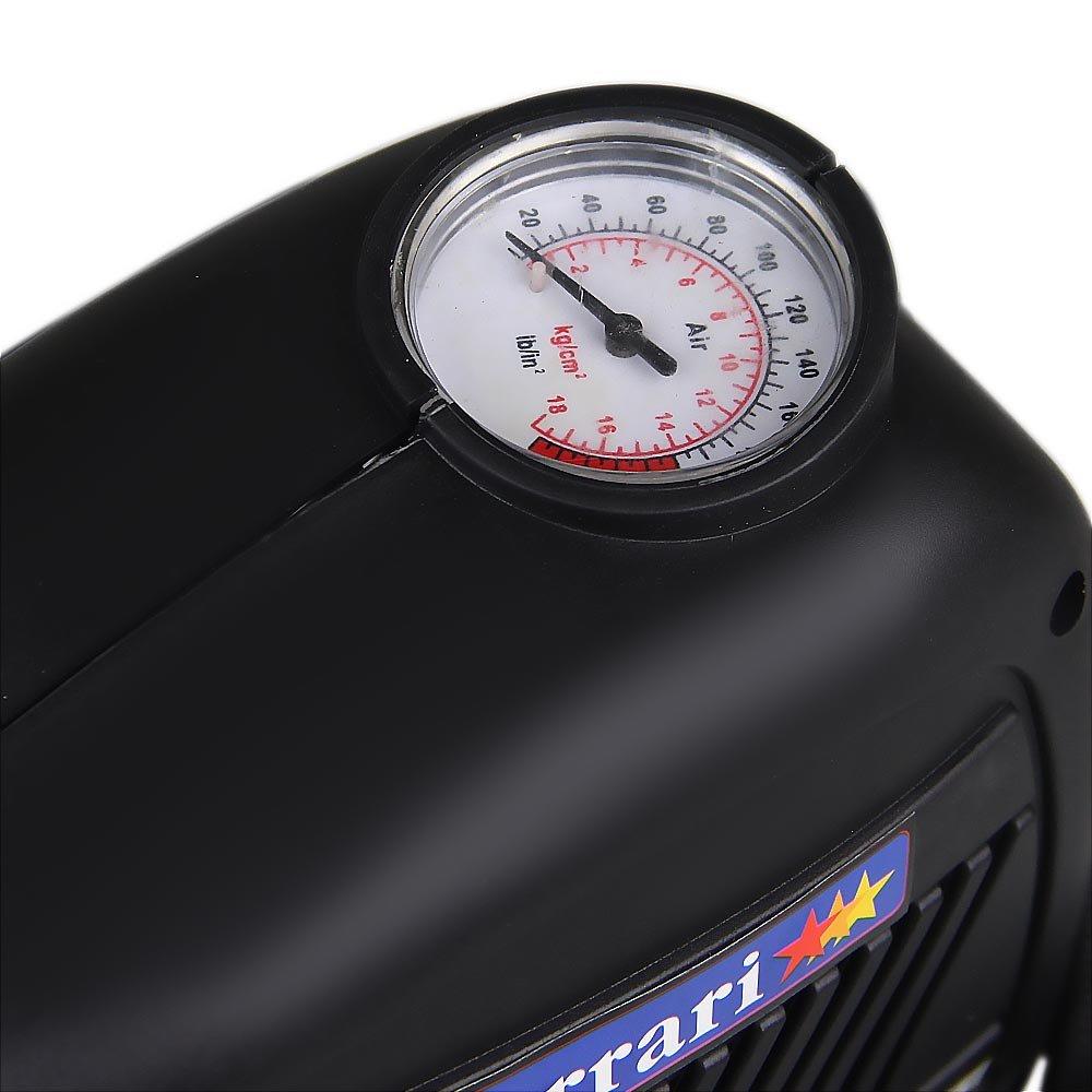 Mini Compressor de AR Turbo Air 120 W - 12 V - Imagem zoom